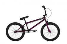 "Haro Frontside Kids 20"" Wheel 20"" Top Tube 25/9T Gearing BMX Bike Purple HA1612"