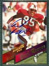 Carl Reeves Football Auto 1995 Players '95 Signature Autograph Signed Card #93