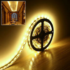 5M 300 LEDs Flexible SMD 5050 LED Strip Tape Light Warm White Non Waterproof