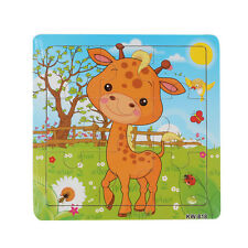 Wooden Kids Jigsaw Toys For Children Education And Learning Puzzles Toys 2016