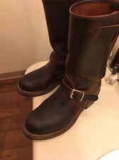 Wesco Men's Engineer Boots Size 10 1/2