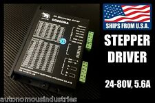 5.6A 24-80V Driver for NEMA34 and NEMA42 Stepper Motors (DQ860MA)