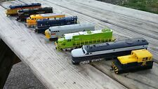 Lot Of 8 HO Scale LOCOMOTIVES Bachmann, Life Like, etc.