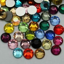 1440pcs Gava HQ Glass Flatback Rhinestones SS16 Crystal Mixed Color (Non Hotfix)