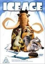 PRE OWNED ICE AGE DVD COMEDY ANIMATION FAMILY  ADVENTURE JACK BLACK RAY ROMANO