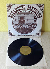 "BALLHOUSE JAZZBAND (LP)""LIVE IN SCHWABING"" [PRIVATE PRESS ""MÜNCHEN"" +AUTOGRAMME]"