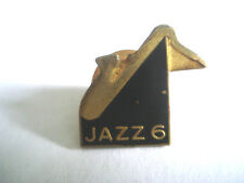 PINS LOGO CHAINE  M6  SAXO JAZZ 6 MUSIC TELEVISION TV FRANCE MOVIE