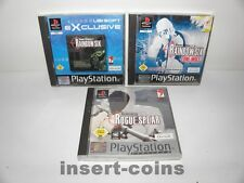 3x Rainbow Six: Lone Wolf, Rogue Spear-PLAYSTATION 1/ps1/PSX/PAL/55