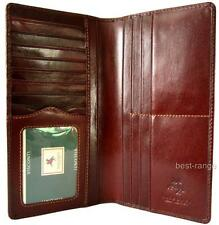 Gents Suit Wallet Real Leather Brown Quality New in Gift Box Visconti MZ6