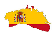 "Auto Aufkleber ""Menorca"" Spanien Spain Decal Sticker!"