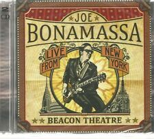 2 CD (NEU!) . JOE BONAMASSA live from New York Beacon Theatre (Beth Hart mkmbh