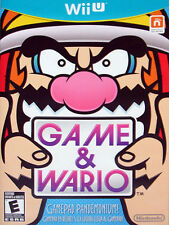 Game & Wario  --  Nintendo Wii U Game Complete and ***Guaranteed***