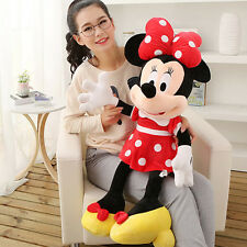 1pcs Mickey Minnie Mouse BIG Jumbo Plush Tall Kids Boys Girls Toy Doll 90CM