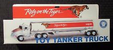 1995 EXXON Gas Gasoline Toy Tanker Truck MIB w/ Working Lights & Sounds