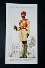 Gold Coast Regiment    Ghana  1938 Uniform   Vintage Card