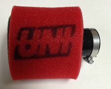 "UNI UNIVERSAL ANGLED 2 STAGE POD AIR FILTER FITS 1"" FREE SHIPPING!"