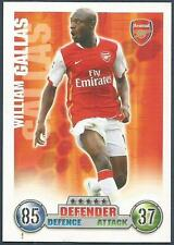 TOPPS MATCH ATTAX 2007-08 TRADING CARD-ARSENAL-WILLIAM GALLAS