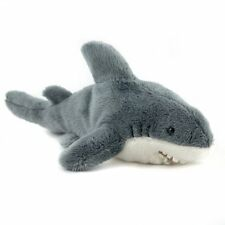 23cm Shark Soft Cuddly Toy - Plush Stuffed Animal - Suitable for All Ages (0+)