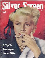 5/1951 Silver Screen Magazine  Rita Hayworth