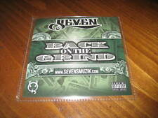 Chicano Rap CD SEVEN - Back on the Grind - Sick Jacken ALT the Saint CYNIC