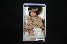 NIB Cathay Collection Porcelain Doll Native Indian Limited Edition 1 in 5000 Box