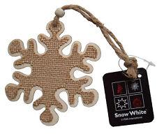 Weihnachtsbaum Schneeflocke Dekoration Holz Hängende Verzierung,Hessisches 11cm