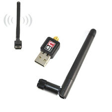 Mini 150Mbps USB WiFi Wireless Adapter LAN Card 802.11n/g/b 2dbi Antenna Dongles
