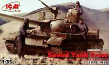 SOVIET (WARSAW PACT) TANK CREW (TO COLD WAR ERA TANKS T-55/64/72) 1/35 ICM