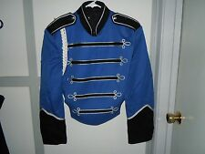 marching band uniform jacket and front piece