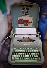 Vintage Hermes 3000 Typewriter Made in Switzerland 1964
