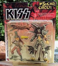 1998 McFarlane Kiss Psycho Circus Figures Gene Simmons + The Ring Master MOC