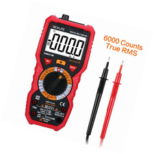 Tacklife DM01M Advanced Digital Multimeter Multi Tester with Non Contact Voltage