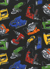 Power Tools 1 Fat Quarter 100% cotton fabric quilt quilting Timeless Treasures