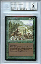 MTG Legends Wolverine Pack BGS 9.0 (9) Mint card Magic the Gathering WOTC 7834