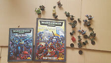 WARHAMMER BATTLE FOR MACRAGGE BOOK + RULES AND FIGURES