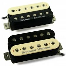 Seymour Duncan Hot Rodded Zebra Humbucker Pickups (SH-2n & SH-4) JB / Jazz Set