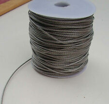1.2MM X 20M Silver Dyneema® Fiber Synthetic Fishing Winch Marine rope tens:220kg