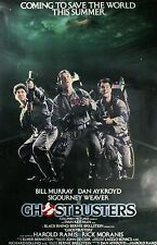 """Ghostbusters vintage Movie Fabric poster 20"""" x 13"""" Decor 02"""