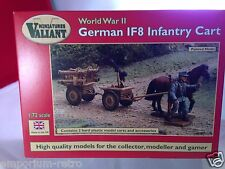 valiant miniatures 1/72 vm005 ww2 german if8 infantry cart model kit