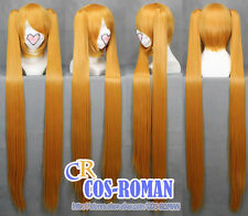 NARUTO Uzumaki cosplay wig costume gold colour Female 042C
