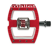 Crank Brothers Mallet DH Race - Clipless Mountain Bike Pedals - Red