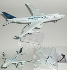Garuda Indonesia Airlines Boeing 747 Airplane 16cm DieCast Plane Model