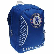 MENS BOYS OFFICIAL CHELSEA FOOTBALL TEAM BACKPACK RUCKSACK SCHOOL COLLEGE GYM