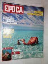 EPOCA Zaccagnini morte di Angelo Jacopucci Pamplona Sartre Robyn Davidson di