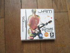 JEU VIDEO NINTENDO DS  JAM SESSIONS MA GUITARE DE POCHE  notice boite