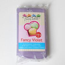 Pasta di zucchero colorata funcakes 250 Gr. - COLORE LILLA OFFERTA!