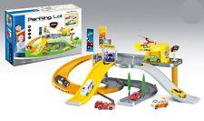 Parco auto della polizia per Bambini Set Gioco Pista con Rimbocchi e automobili Bambini Giocattolo Gioco Divertente