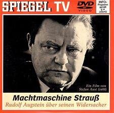 Machtmaschine Strauß von Stefan Aust / NEU - DVD / Spiegel TV 36