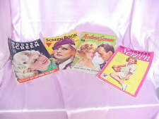 VINTAGE 1933 -1935 FOUR MOVIE MAGAZINES GARBO , GAYNOR ,  ROGERS , ASTAIRE COVER