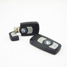 Real Capacity 8GB USB Flash Drive Memory Card Car Key Chain Mini Gifts for BMW